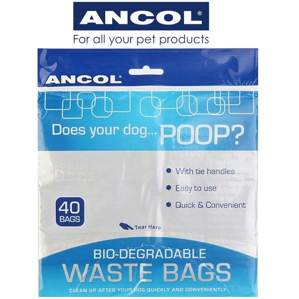 Ancol Bio-Degradable Poo Bags