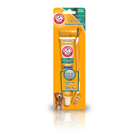 Arm & Hammer Dog Toothpaste & Brush Set