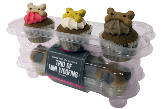 Barking Bakery - Trio of Mini Woofins-Dog Treat