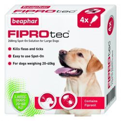 Beaphar FIPROtec Spot On Treatment for Dogs