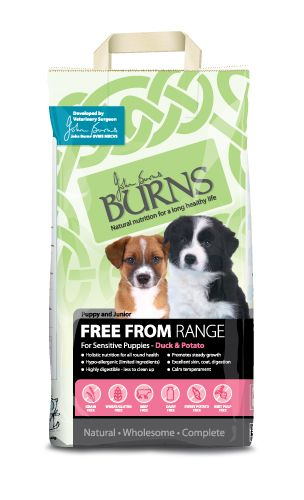 Burn's Puppy & Junior Free From Range Duck & Potato