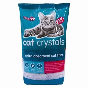 Cat Litter Crystals