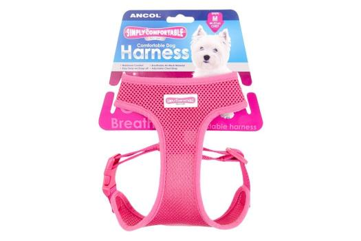 Comfortable Dog Harness Pink