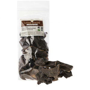 Dried Liver Strips Natural Dog Treats 200g