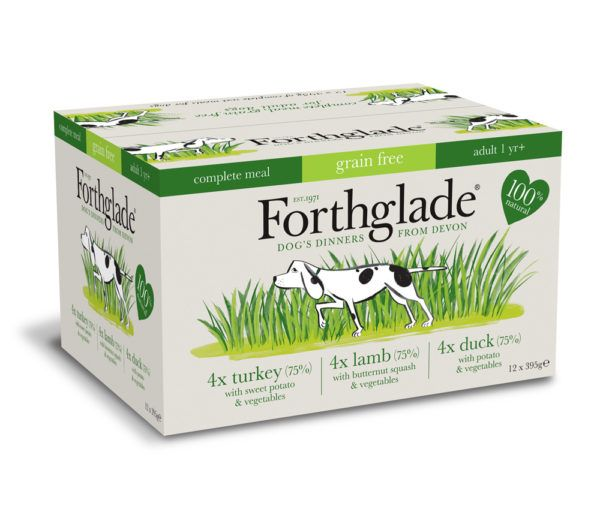 Forthglade Multipack Wet Dog Food Trays 12 x 395g  MultiPacks