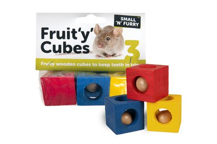 Fruity Cubes Small Animal Chews