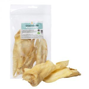 Goat Ears Dog Treat - 130g Pack   4-5 Pieces