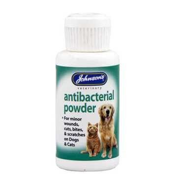Johnson's Antibacterial Powder for Cats and Dogs 20g