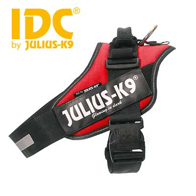 Julius-K9 Power Dog Harness - Red