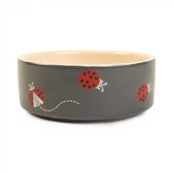 Lady Bird Ceramic Dog Bowl by Zoon