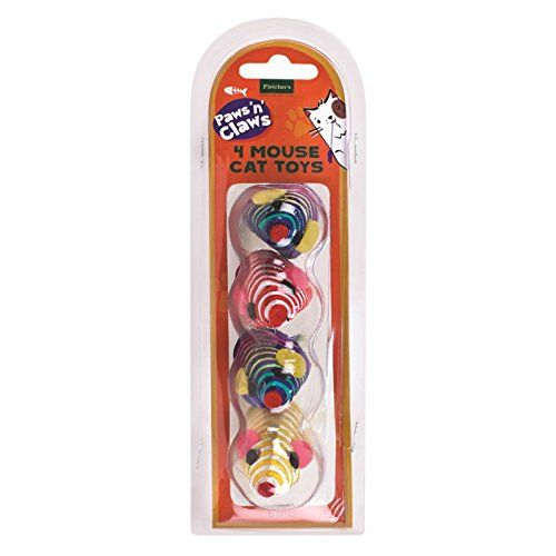 Mouse Cat Toys - 4 Pack