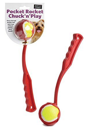 Pocket Rocket Chuck 'n' Play Ball Launcher