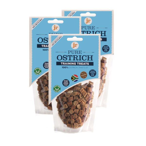 Pure Ostrich Dog Training Treats