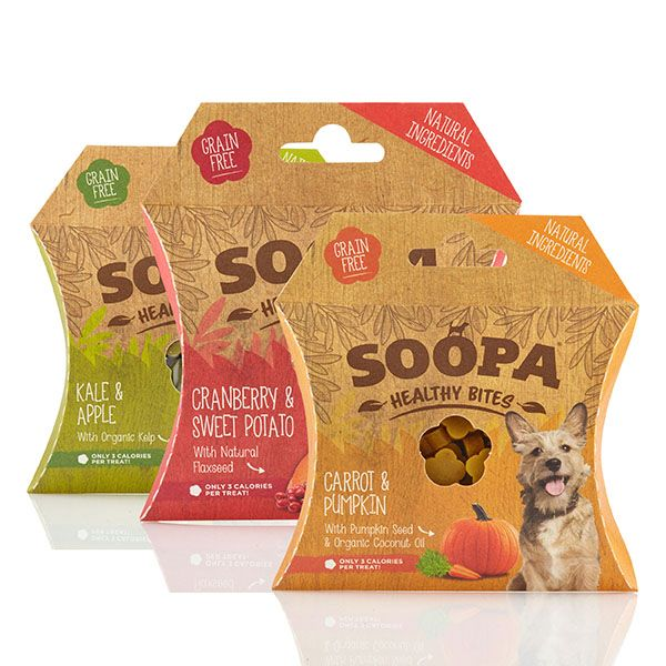 Soopa Healthy Dog Bites Variety 3 Pack