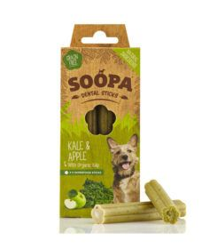 Soopa Kale & Apple Dog Dental Sticks