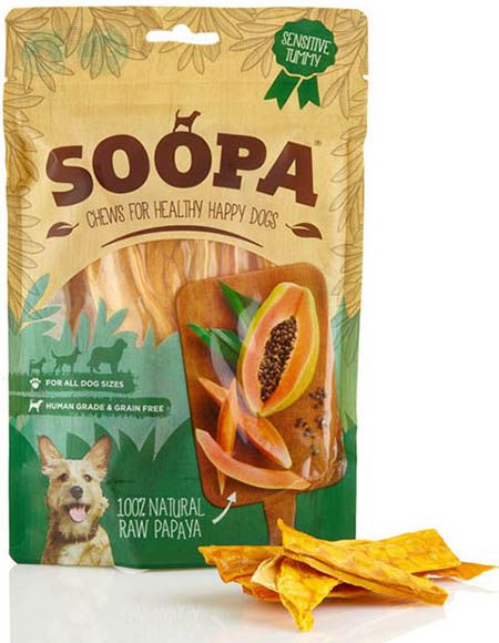 Soopa Papaya Dog Chews 85g