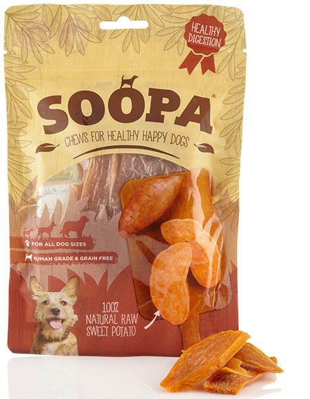 Soopa Sweet Potato Dog Chews 100g