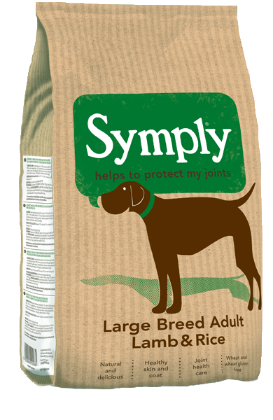 Symply Adult Large Breed Lamb & Rice Dry Dog Food