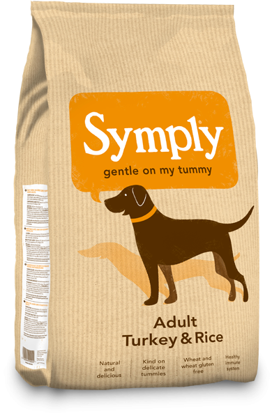 Symply Adult Turkey and Rice Dry Dog Food