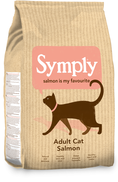 Symply Cat Adult Salmon Dry food