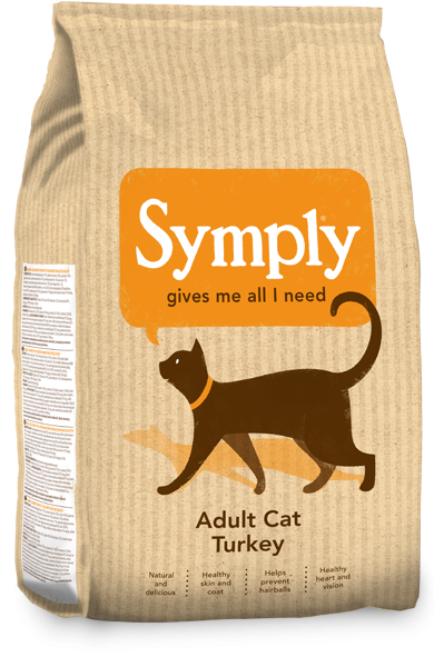 Symply Cat Adult Turkey Dry food