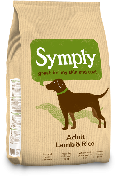 Symply Lamb & Rice Dry Dog Food
