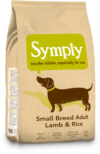 Symply Lamb & Rice Small Breed Dry Dog Food