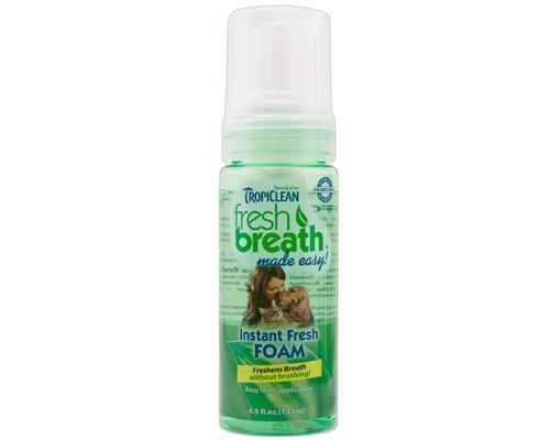 Tropiclean Fresh Breath Made Easy Mint Foam for Dogs 133ml