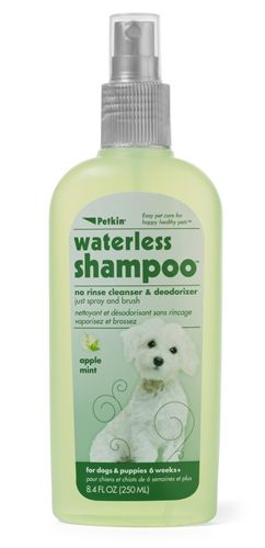 Waterless Dog Shampoo with No Rinse & Deodoriser